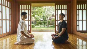 Chiva-Som International Health Resorts Meditation segara
