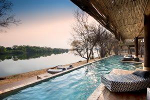 andBeyond MATETSI RIVER LODGE Zimbabwe Guest Area Pool