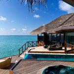 Huvafen Fushi segara PR Agentur München Tourismus Sailing Dhoni. Maldives resort Huvafen Fushi, Maldives is managed by luxury brand Per Aquum Resorts and Spas - featuring world-first Underwater Spa.