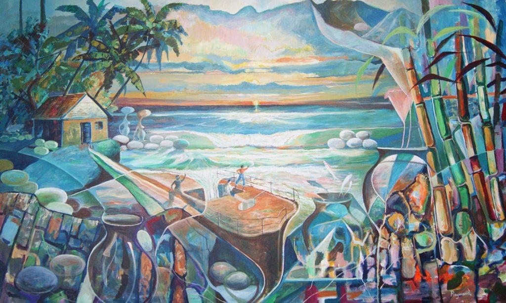 Raymond Du Buisson Kunst Seychellen Raffles Seychelles Praslin segara Kommunikation PR Agentur München Tourismus