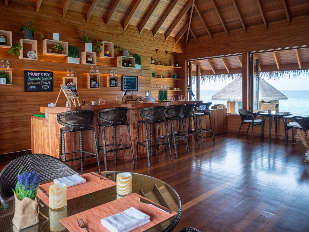"Huvafen Fushi Spa Bar ""RAW"" Malediven segara PR Agentur Tourismus München"