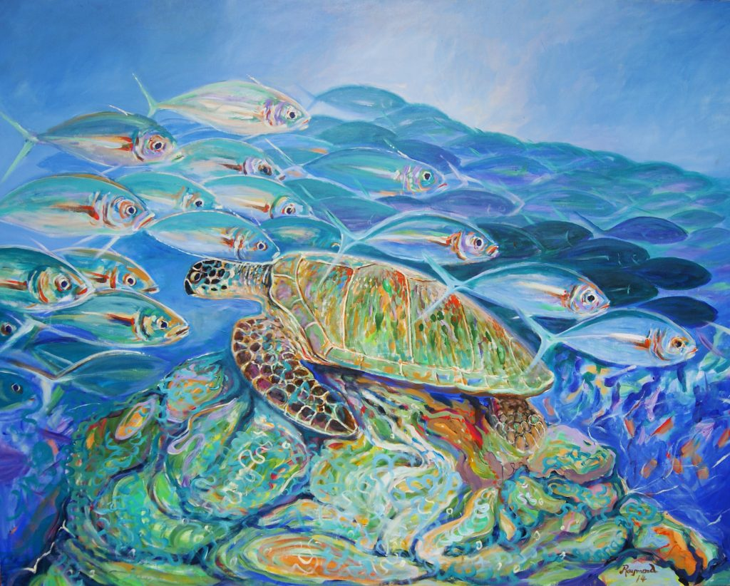 du Buisson segara Raffles Seychelles PR Agentur Tourismus München Painting Malkurs Seychellen