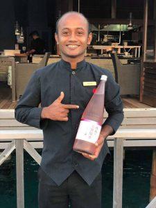 segara Kommunikation Tourismus PR Agentur München Huvafen Fushi Sake Sommelier Abdulla Saeed Malediven