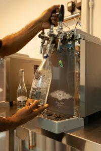 segara Kommunikation PR Agentur München Raffles Seychelles Water Bottling System Poseidon
