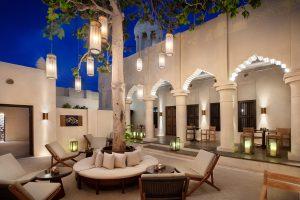 segara PR Agentur München Al Bait Sharjah The Cafe Innenhof