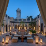 segara_PR_Agentur_München_Tourismus_Al_Bait_Sharjah_Reception_Outdoor_Majilis_Tower_Evening