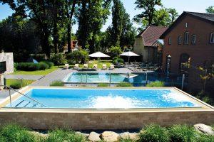 Solebecken Whirlpool Ostsee Weissenhaus Grand Village Resort & Spa am Meer segara PR Agentur Tourismus München