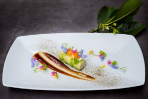 segara_PR_Agentur_München_Chiva-Som_Wellness_Journey_Fundraising_Gala_Dinner_Seafood_Roll