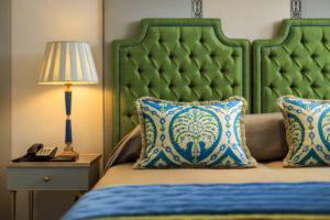 segara_PR_Agentur_München_Villa Malakoff - Double room - Bed detail