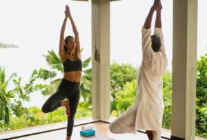 Raffles_Seychelles_segara_PR_Agentur_München_Yoga_Übungen_Pavillion