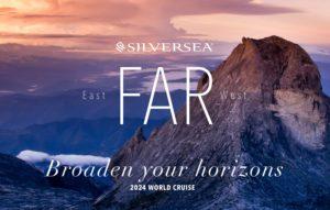 Silversea Cruises East Far West 2024 World Tour segara Kommunikation Tourismus PR Agentur München