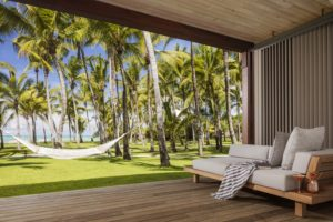 One&Only Mauritius Palmen Hängematte Suite segara Kommunikation Tourismus PR Agentur München
