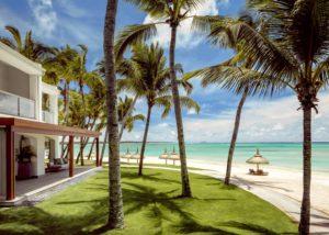 One&Only Mauritius Palmen Meer Strand segara Kommunikation Tourismus PR Agentur München