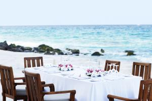 Fregate Island Private Lunch at the Beach