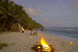 Fregate Island Private Stand Dinner Location BBQ