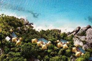 Fregate Island Private Villas Aerial