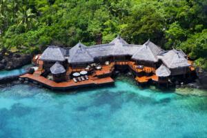 Laucala_Island_overwater_villa_aerial