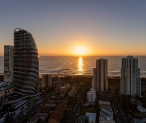AVANI Broadbeach Residences 1 bedroom premier ocean suite view