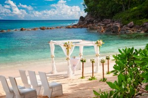 AVANI Seychelles Barbarons Resort & Spa Wedding On the Beach