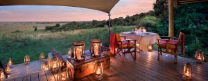 andBeyond Bateleur Camp Romantic Dining