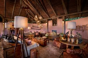 andBeyond Bateleur North Camp Guest Area