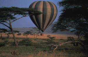 andBeyond Bateleur and Kichwa Hot Airballoon