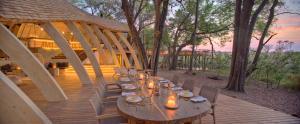 andBeyond Botswana Sandibe Guest Area