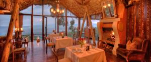 andBeyond Ngorongoro Crater Lodge Dining View