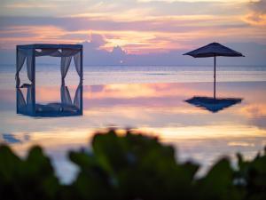 Amilla Fushi Beach Sundown