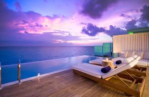 Amilla Fushi Lagoon House Terrasse