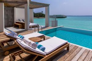 Amilla Fushi Ocean Lagoon House Terrasse
