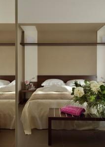 Aqualux Hotel Spa Suite & Terme Schlafzimmer Garten Suite