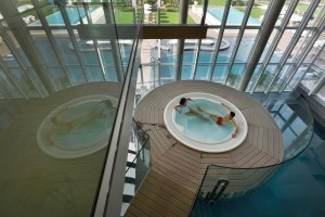 Aqualux Hotel Spa Suite & Terme  Panoramawhirlpool