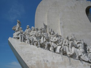 Bayerisches Pilerbüro Lissabon Sehfahrerdenkmal Copyright bp-Archiv