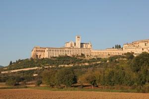 Bayerisches Pilgerbüro Blick auf Assisi vom Franziskusweg Copyright bp-Archiv