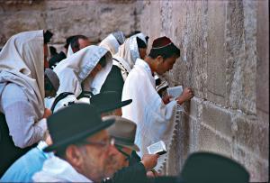 Bayerisches Pilgerbuero Jerusalem Klagemauer Copyright bp-Archiv