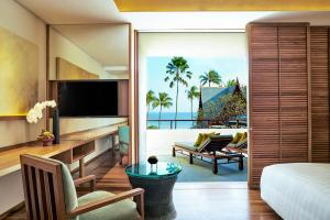 Chiva-Som International Health Resort Ocean Premium Room Living Area