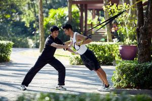 Chiva-Som International Health Resort Personal Training Outdoor