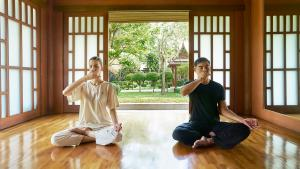 Chiva-Som International Health Resort Yoga Pranayama