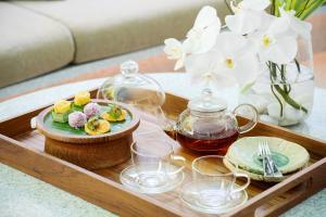 Chiva Som International Health Resort Afternoon snack