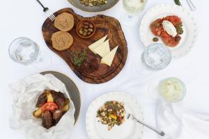 Cretan Malia Park Mouries Restaurant Essen Detail