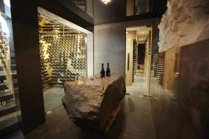 Ellerman House WIne Gallery Champagne Cellar