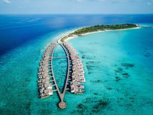 Fairmont Maldives Sirru Fen Fushi Aerial