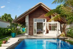 Fairmont Maldives Sirru Fen Fushi Beach Villa