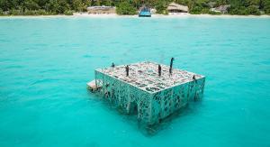 Fairmont Maldives Sirru Fen Fushi Unterwasser Museum