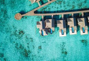 Fairmont Maldives Sirru Fen Fushi Water Villa 2 Bedroom Sunset