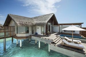 Fairmont Maldives Sirru Fen Fushi Water Villa Exteriors