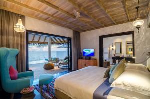 Finolhu Ocean Villa Pool Indoors