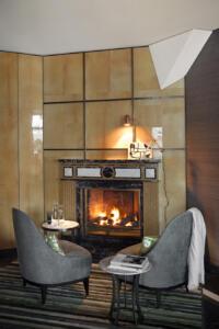 Hotel Storchen Fireplace