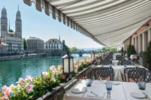 Hotel Storchen La Rotisserie Terrasse
